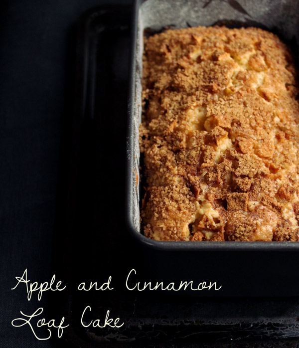 Apple & Cinnamon Loaf Cake | thefoodiesway.co.uk