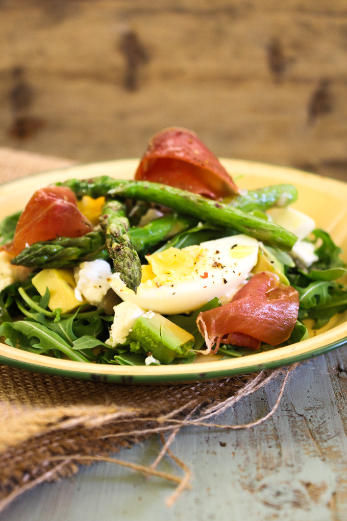 Spring Salad| thefoodiesway.co.uk
