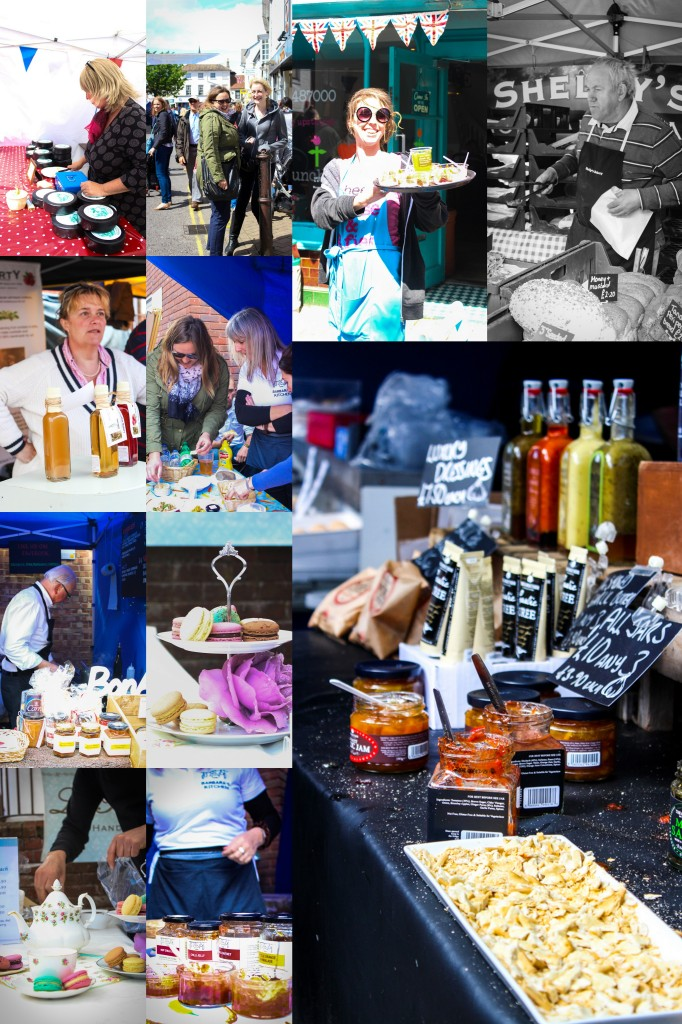 Christchurch Food Festival Collage |thefoodiesway.co.uk