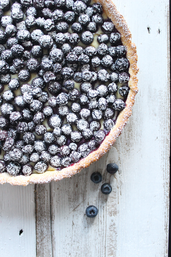 Blueberry Tart Tarte Aux Myrtilles|thefoodiesway.co.uk