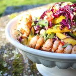 Chilli King Prawn + Mango Salad |thefoodiesway.co.uk